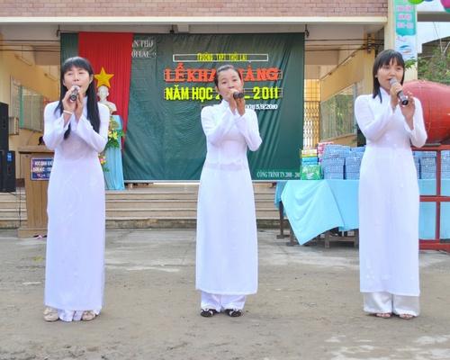 Lễ Khai giảng năm học  2010-2011