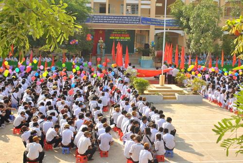 Trường THPT Thới Lai khai giảng năm học 2011-2012